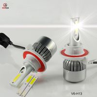 C6 H13 hi/low led car headlight 33w auto led headlamp wholesale