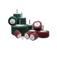 alumina oxide grinding Flap wheel roller with shank thumbnail image