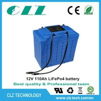 12V/24V/36V/48V/96V 40ah 110ah 110ah 170ah LiFePo4 battery for solar system/ EV