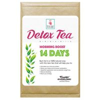 100% Organic Herbal Detox Tea Slimming Tea Weight Loss Tea (morning boost tea 14 day)