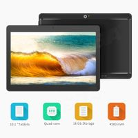 "10"" android 3G Tablet 1280800 IPS touch screen MTK6582 Wifi mobile dual sim card tablet"