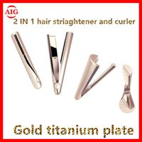 Newest 2 in 1 hair straightener and curling iron thumbnail image