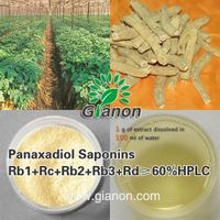 The Panaxadiol Saponins 70%HPLC