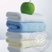 100% cotton 5 star hotel towel/16S hotel towel set white color hotel bath towel