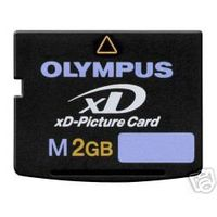 Olympus XD 2G Memory Card XD-Picture Card