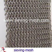 Ring Mesh Curtain/chainmail Curtain Mesh