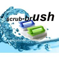 HQ8118 professional cleaning tools iron shape plastic scrub brush/clothes washing brush/cleaning scr