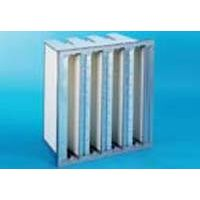 V-BANK W TYPE FINAL FILTER FOR POWER GENERATING SYSTEMS