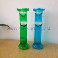 Reverse Flowing Liquid Hourglass, Liquid Sand Timer