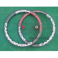 CPNL Bora Ultra two 700c Toray carbon 50mm clincher wheel with road Red straight pull hub 11s blade