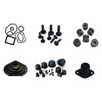 Customized Molded Various Size Rubber Seal Ring /O-Ring Rubber Parts thumbnail image