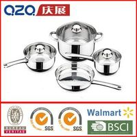 high quality induction Stainless steel 7 pcs Cookware Set-CW14-S07
