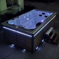 First Quality Outdoor Swimming Endless Pool Massage Spa Pool with Best Price BG-6652A