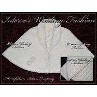 Fur wedding capes and stoles