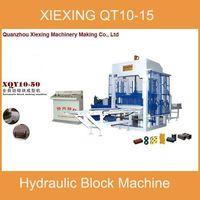 QT10-15 Cement block making machinery