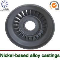 turbo spare parts nickel base alloy vacuum casting for outboard motor nozzle guide vanes thumbnail image