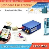 Mini 3G GPS Car Tracker with 3D motion sensor/SOS/Voice/Fuel cut