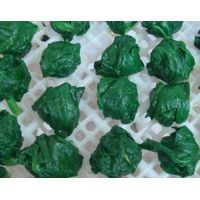frozen foods frozen vegetables frozen spinach ball 25-35g supply from China