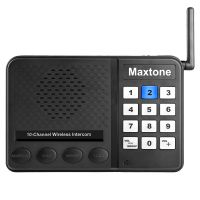 10 Multi Channel 1kM Room to Room Business Wireless Intercom System for Home or Office Communication