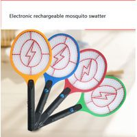 Electronic rechargeable mosquito swatter