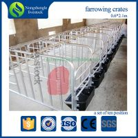 Breeding crates for the pig farming pen gestation cages