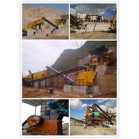 Mining impact crusher hammer machine with parts thumbnail image
