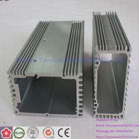 "aluminum extrusion enclosure housing a6063 t5 t-slot oval aluminum extrusion profiles """