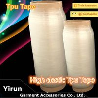 T-shirt accessories elastic TPU tape garment accessories TPU Tape for Sewing