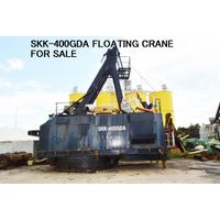 USED SKK-400GDA & OTHER MODELS of FLOATING CRANE