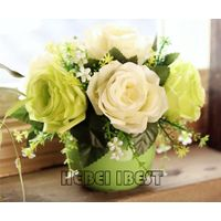 Artifical table flower with ceramic pot thumbnail image