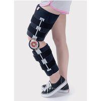 Orthopedic knee support brace with hinge for knee injury thumbnail image