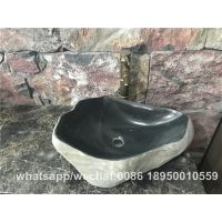 Black River Stone Bathroom Special Round Wash Basin Stone Sinks