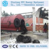 waste rubber / tyre pyrolysis machine