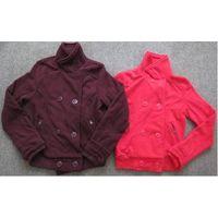Hollyland brand stock on sales, 10,944pcs Ladies double breasted polar fleece jacket TC1-695 thumbnail image