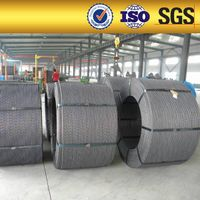 High tensile PC steel wire strand steel construction used in anchor construction