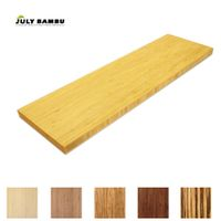 Wholesale 19mm caramelized bamboo plywood price 100% solid bamboo table top