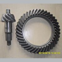 Factory Direct Supply Carbon Steel Spiral Bevel Gear Pair For Construction Machinery thumbnail image
