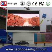 new P10 outdoor full color led display module for led advertising board, led module