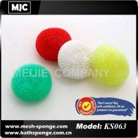 plastic cleaning ball, plastic cleaning scourer