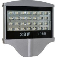28W LED street lights with CE/RoHS, 90lm/W.1W SMD LED, 3 years warranty