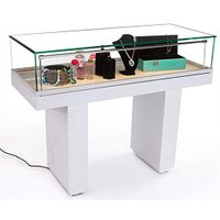 Jewelry display cabinet and glass display counter with LED Light