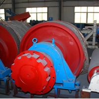Conveyor Head Pulley with High Quality Bearing