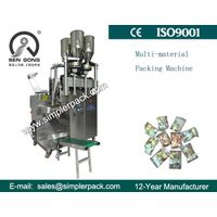 Multiple Materials Single Bag Packing Machine for Big Irregular Food