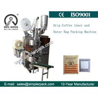 Brazil Drip Coffee Bag Packing Machine with Outer Envelope