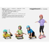Wiggleboard-yellow.Balance exercise equipment.new ripstik thumbnail image