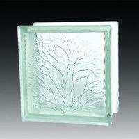 Coral brick decorative crystal glass block thumbnail image