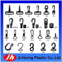 Plastic Snap Rotational Hook/Bungee Cord Hook Buckle(Bag Accessories) thumbnail image