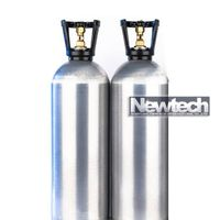 CE approved 13.4L beverage CO2 cylinder CO2 gas cylinder