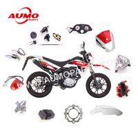 Motorcycle Handlebar Grips Set Handle Lever fot Romet CRS125