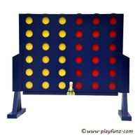 CONNECT 4 FOUR IN A ROW CHESS GIANT GARDEN FAMILY FRIENDS OUTDOOR PARTY FUN GAMES NEW
